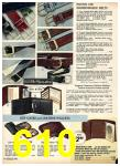 1975 Sears Fall Winter Catalog, Page 610