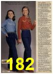 1980 Sears Fall Winter Catalog, Page 182