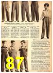 1949 Sears Spring Summer Catalog, Page 87
