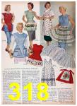 1957 Sears Spring Summer Catalog, Page 318