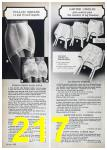 1972 Sears Spring Summer Catalog, Page 217