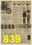 1962 Sears Spring Summer Catalog, Page 839