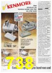 1988 Sears Fall Winter Catalog, Page 738