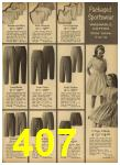 1962 Sears Spring Summer Catalog, Page 407