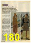 1968 Sears Fall Winter Catalog, Page 180