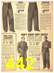 1940 Sears Fall Winter Catalog, Page 442