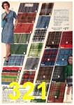 1962 Sears Fall Winter Catalog, Page 321