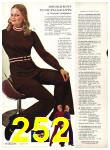 1971 Sears Fall Winter Catalog, Page 252