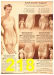 1942 Sears Spring Summer Catalog, Page 218