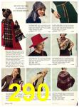 1971 Sears Fall Winter Catalog, Page 290