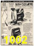 1982 Sears Fall Winter Catalog, Page 1002