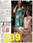 1981 Sears Spring Summer Catalog, Page 209