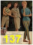 1962 Sears Spring Summer Catalog, Page 137