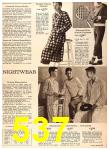 1960 Sears Fall Winter Catalog, Page 537
