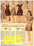 1942 Sears Spring Summer Catalog, Page 265