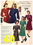 1940 Sears Fall Winter Catalog, Page 49