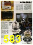 1989 Sears Home Annual Catalog, Page 583