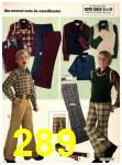 1973 Sears Fall Winter Catalog, Page 289