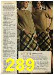 1968 Sears Fall Winter Catalog, Page 289