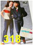 1985 Sears Fall Winter Catalog, Page 318
