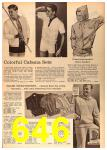 1964 Sears Spring Summer Catalog, Page 646