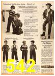 1958 Sears Fall Winter Catalog, Page 542