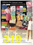 1969 Sears Spring Summer Catalog, Page 319