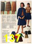 1962 Sears Fall Winter Catalog, Page 137