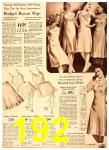 1940 Sears Fall Winter Catalog, Page 192