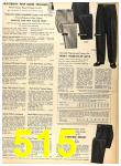 1956 Sears Fall Winter Catalog, Page 515