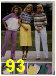 1984 Sears Spring Summer Catalog, Page 93