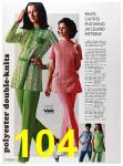 1973 Sears Spring Summer Catalog, Page 104