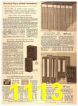 1956 Sears Fall Winter Catalog, Page 1113