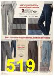 1958 Sears Spring Summer Catalog, Page 519