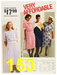1987 Sears Spring Summer Catalog, Page 153