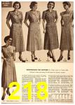 1949 Sears Spring Summer Catalog, Page 218