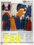 1986 Sears Fall Winter Catalog, Page 268