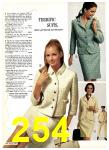 1969 Sears Spring Summer Catalog, Page 254