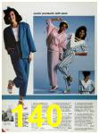 1986 Sears Spring Summer Catalog, Page 140