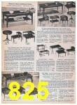1957 Sears Spring Summer Catalog, Page 825