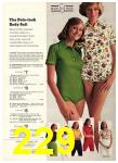 1974 Sears Spring Summer Catalog, Page 229