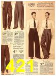 1940 Sears Fall Winter Catalog, Page 421