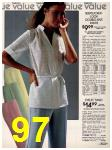 1981 Sears Spring Summer Catalog, Page 97