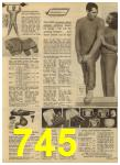 1965 Sears Spring Summer Catalog, Page 745