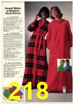 1976 Sears Fall Winter Catalog, Page 218