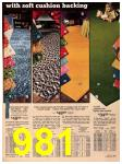1973 Sears Fall Winter Catalog, Page 981