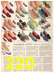 1956 Sears Fall Winter Catalog, Page 220