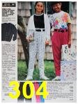 1991 Sears Spring Summer Catalog, Page 304