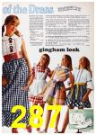 1972 Sears Spring Summer Catalog, Page 287