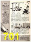 1969 Sears Spring Summer Catalog, Page 701